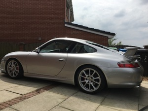 Porsche 996 Carrera (2002) - 3.6L petrol engine with 75,300 miles on the clock.