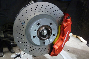 Porsche brake replacement offer