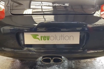 Optimized Revolution Porsche 987 Boxster And Cayman Exhaust Modification