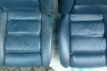Leather Restoration for Porsches
